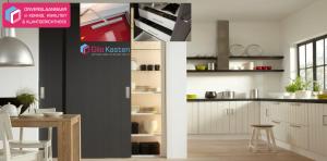 Landhuis-moderne schuifdeuren -gilo-kasten Raffito